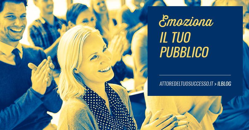 Parlare in pubblico: trucchi per agganciare l'emozione alla voce